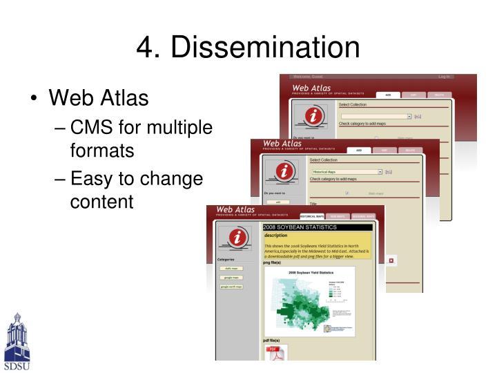 4. Dissemination