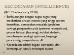 kecerdasan intelligence