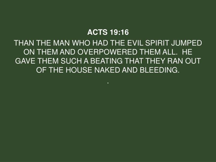 Acts 19: