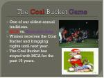 the coal bucket game