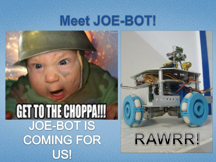 Meet joe bot