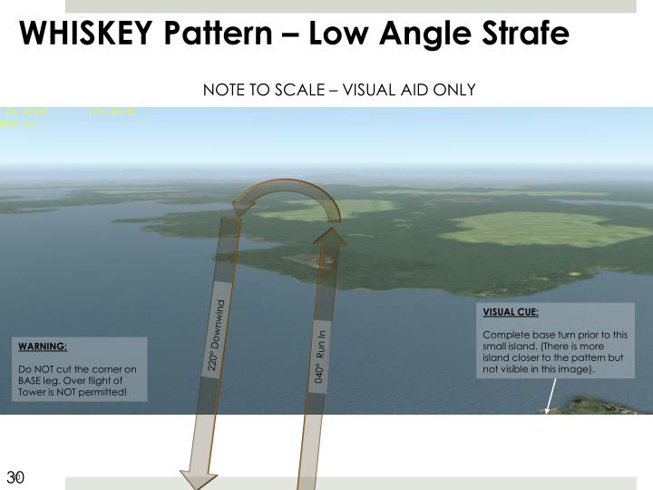 WHISKEY Pattern – Low Angle Strafe