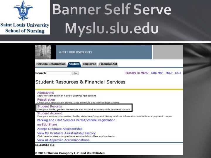 Banner Self Serve