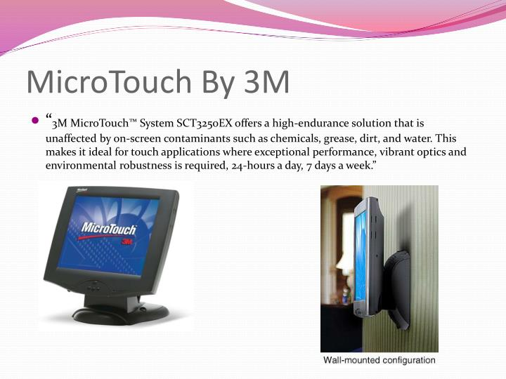 Microtouch by 3m