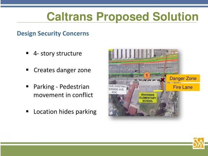 Caltrans Proposed Solution