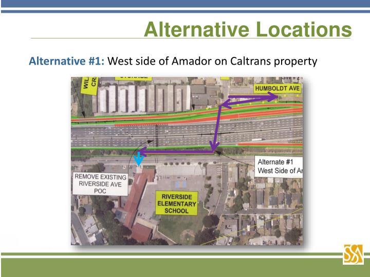 Alternative Locations