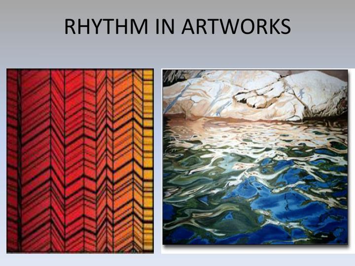 RHYTHM IN ARTWORKS