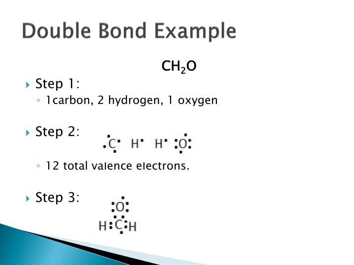 Double Bond Example