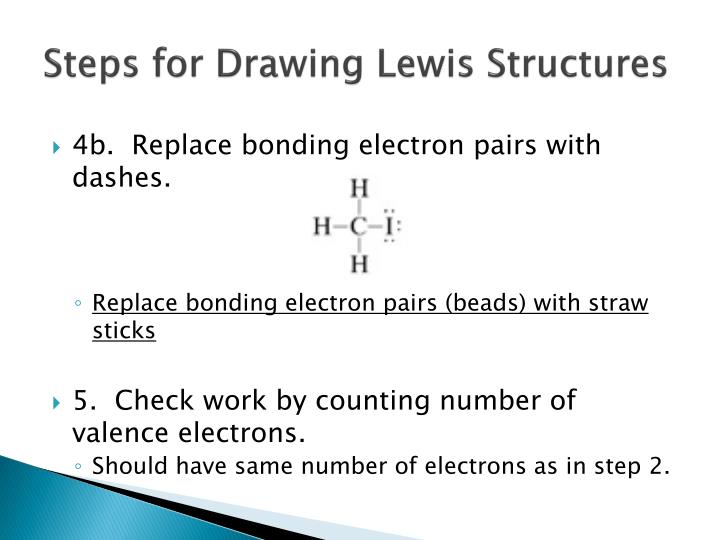Steps for Drawing Lewis Structures