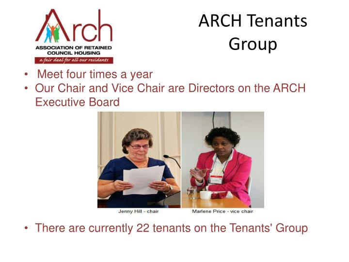 ARCH Tenants Group