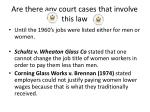 are there any court cases that involve this law