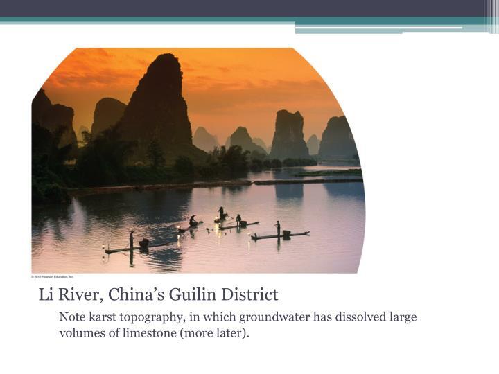 Li River, China's Guilin District