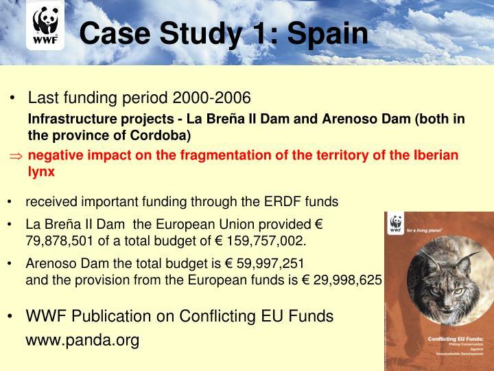 Case Study 1: Spain