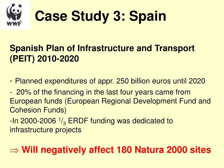 Case Study 3: Spain