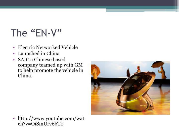 """The """"EN-V"""""""