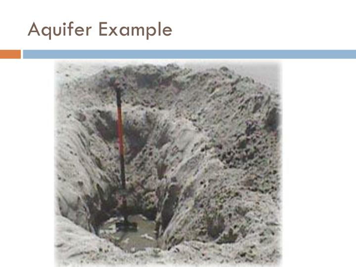 Aquifer Example
