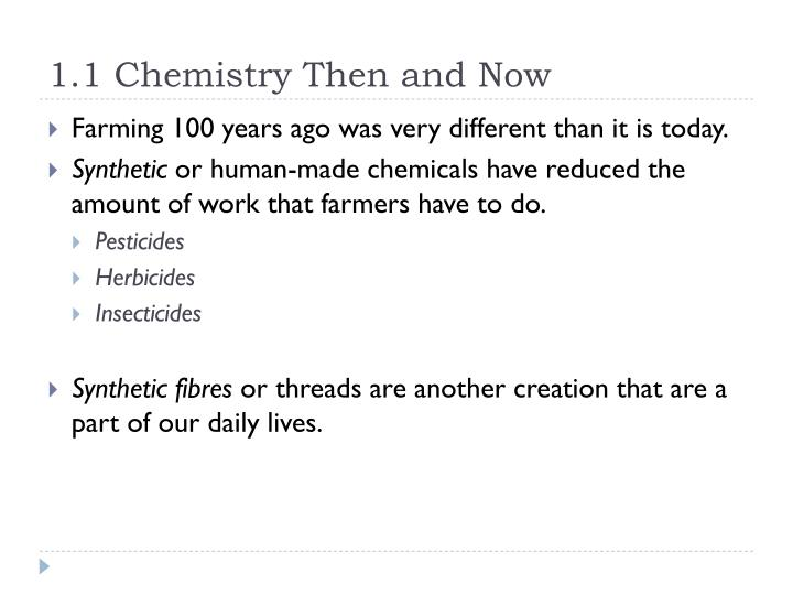 1 1 chemistry then and now