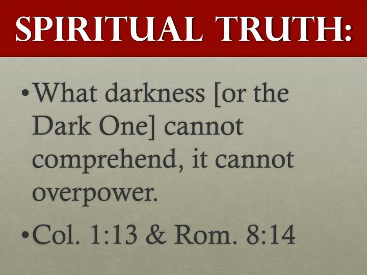 Spiritual Truth: