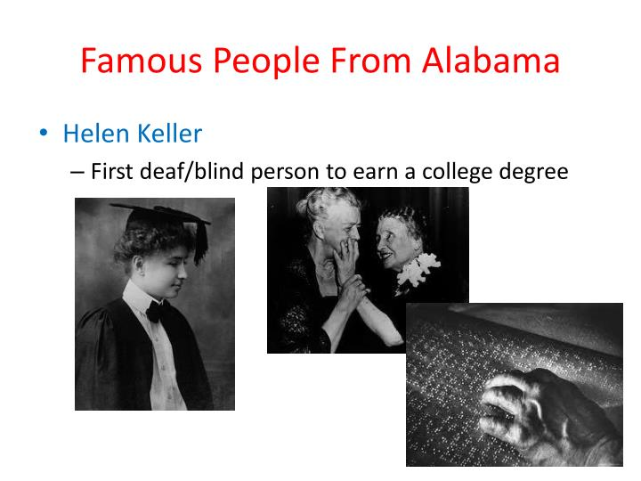 Famous People From Alabama