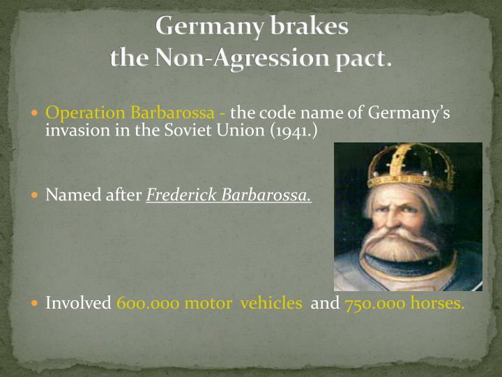 Germany brakes