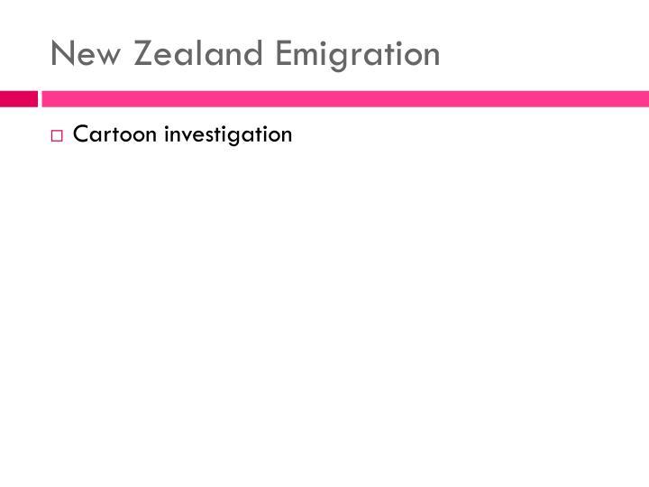 New Zealand Emigration