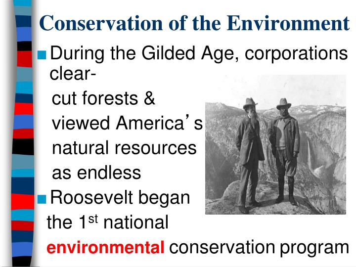 Conservation of the Environment