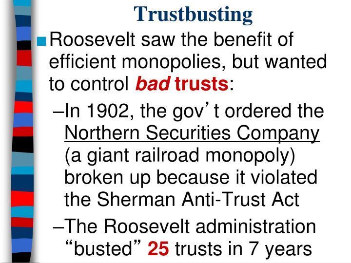 Trustbusting