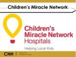 children s miracle network