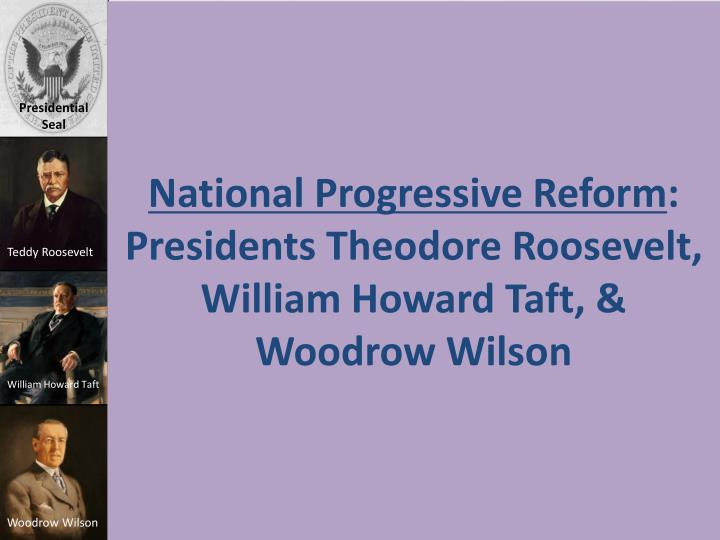 National Progressive Reform