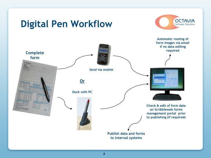 Digital Pen Workflow