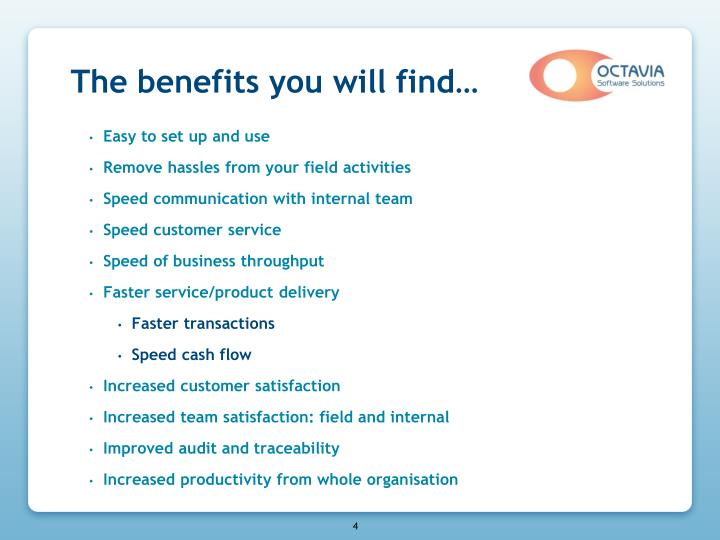The benefits you will find…