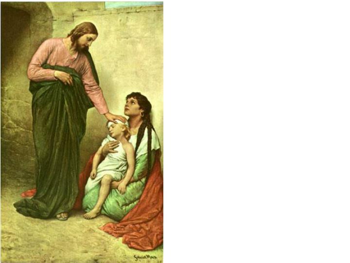 Gabriel Von Max – Jesus helps the sick