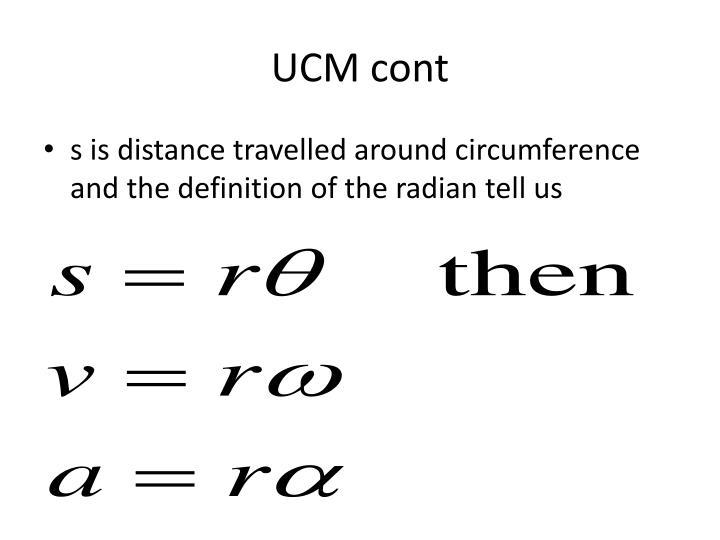 UCM cont
