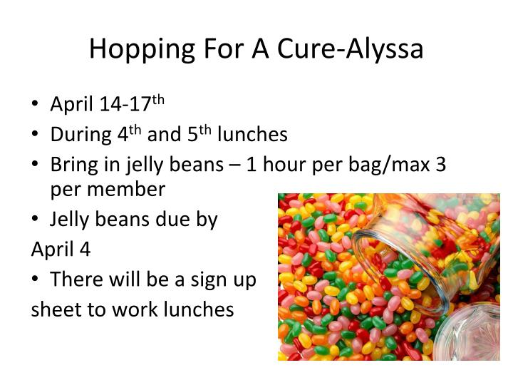 Hopping For A Cure-Alyssa