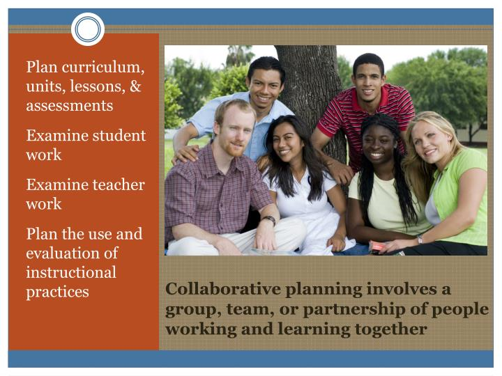 Plan curriculum, units, lessons, & assessments