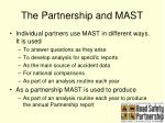 the partnership and mast
