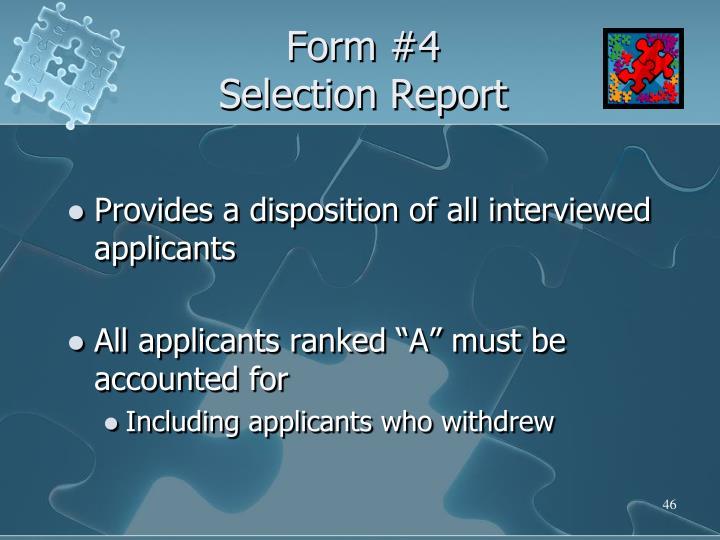 Form #4