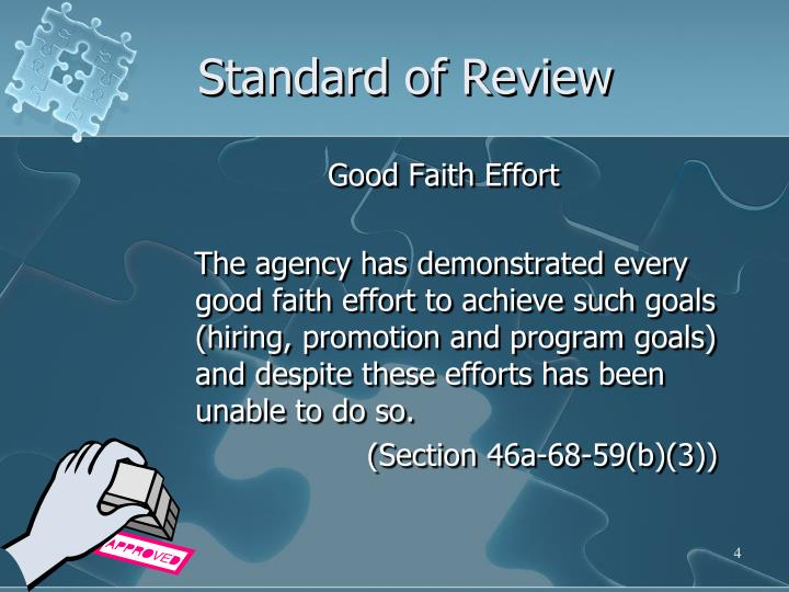 Standard of Review