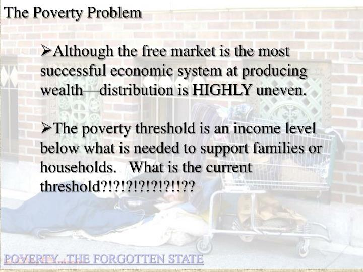 The Poverty Problem