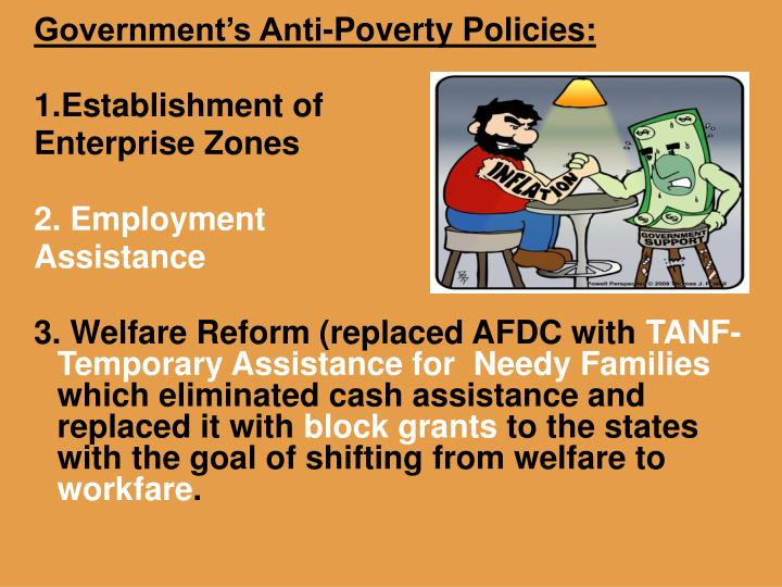 Government's Anti-Poverty Policies: