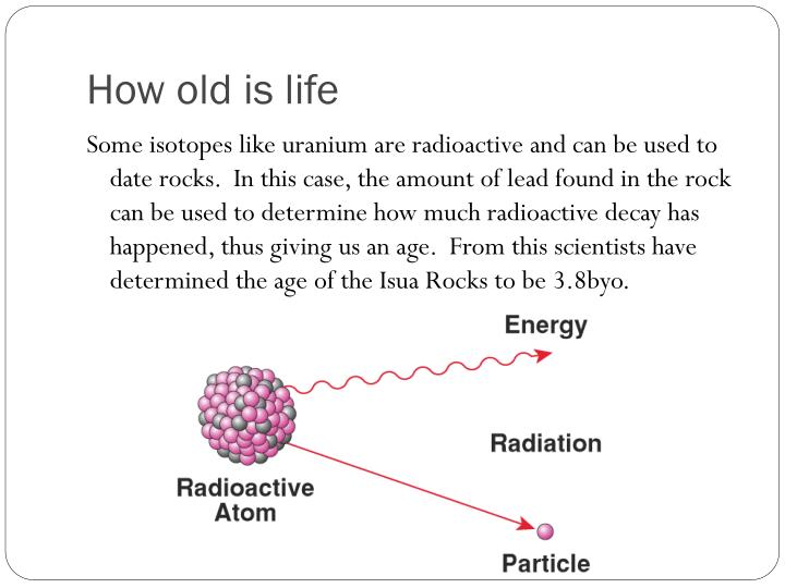 How old is life