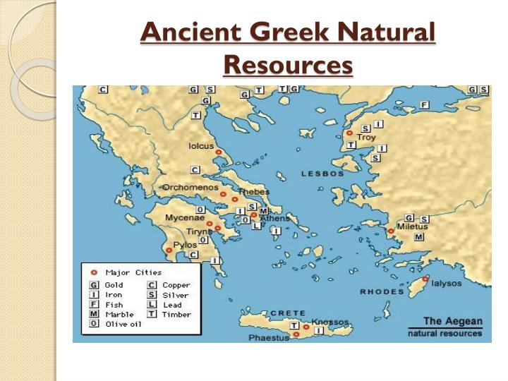 Ancient Greek Natural Resources