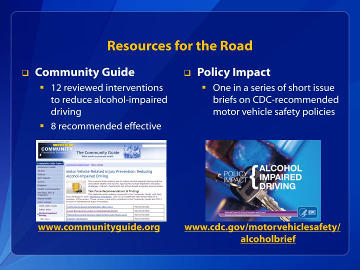 Resources for the Road