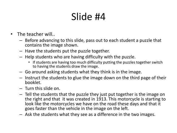 Slide #4