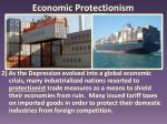 economic protectionism1