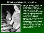 wwi and over production3