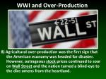 wwi and over production7