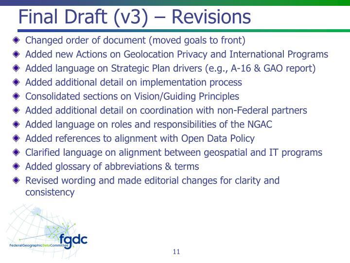 Final Draft (v3) – Revisions