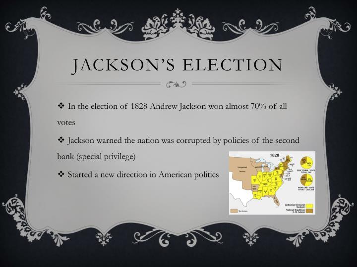 Jackson's Election