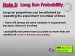 note 3 long run probability1